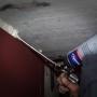 Metalinės durys į sandėliuką