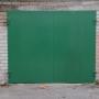 Metaliniai garažo vartai lauko bokse